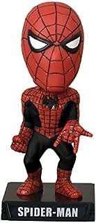 SPIDERMAN cabezon PVC 16cm - traje negra y serie exclusiva Funko