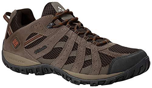 Columbia Men's Redmond Low Hiking Shoe, Cordovan/Dark, 10 M US