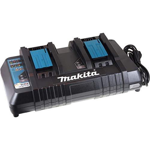 Makita DC 18 RD Schnell-Ladegerät für 2 Akkus gleichzeitig