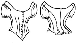 1875 Ball Gown Basque Bodice Pattern