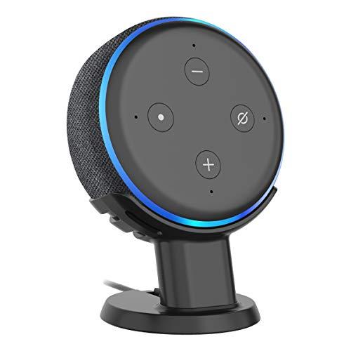 SPORTLINK Dot3 卓上スタンド Dot 第三世代(2018 New モデル)卓上マウント スマート すポーカー スタンド Dot3 カバー ドット3 ケース (卓上スタンド ブラック)