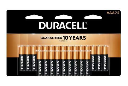 24 Pack'AAA' Duracell CopperTop Alkaline Batteries (Original Version)