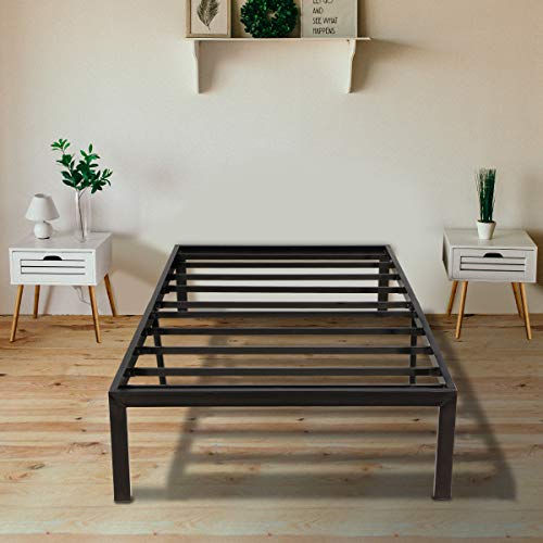 KINGSO Twin Bed Frame, 14 Inch...