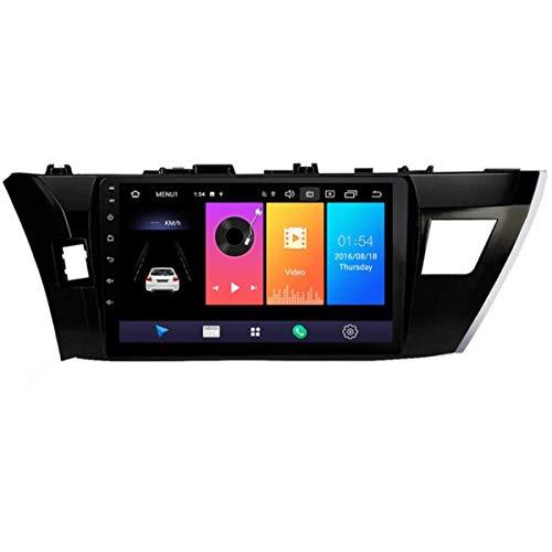 XBRMMM Estéreo Navegación para Automóvil Android 9.1 con Pantalla Táctil 10.1' para Toyota Corolla 2014-2016 Radio Multimedia, Conexión A Internet WiFi/4G, Compatible con RDS DSP FM BT