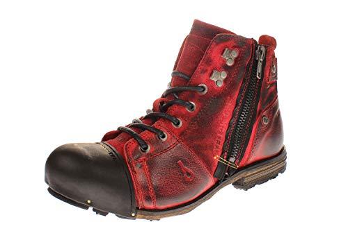 Yellow Cab Y15419 Industrial 2-C - Herren Schuhe Boots/Stiefel - 700-brown, Größe:44 EU