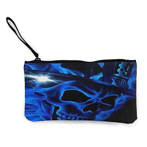 Moneda de lona, bolsa de cosméticos de viaje con cremallera, bolsa de maquillaje multifunción para teléfono móvil, bolsa de lápiz con asa