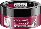 Schwarzkopf - Taft - Cire Wax - Cire Cheveux - Effet Sculptant - 75 ml
