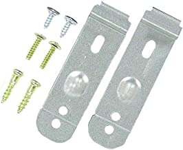 8212560 /& 8269145 Mounting Bracket Replacement Kit With Screw Replacement for KitchenAid KUDE70FXSS4 Dishwasher Compatible with WP8269145 /& 8212560 Undercounter Dishwasher Mounting Bracket