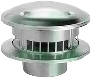 SELKIRK CORP 105800 5-Inch  Round Top