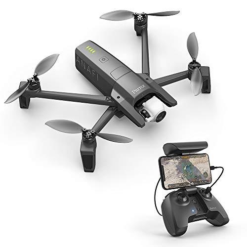 Parrot Anafi Base Drone con Videocamera HDR 4K con Gimbal con...
