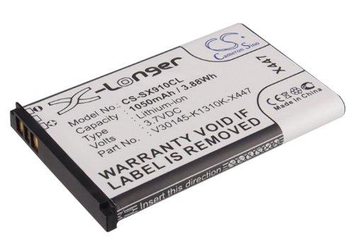 Li-Ion Battery Pack Fits Siemens V30145-K1310K-X447, V30145-K1310K-X447-0-HY, Gigaset SL910