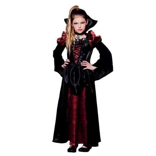 Boland- Costume Bambina Regina dei Vampiri, Nero/Rosso, 158, 78108