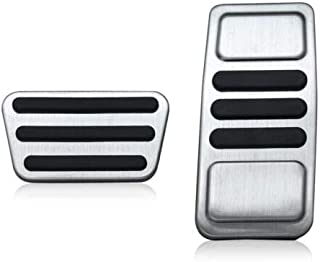 YONGHONG Accelerator Fuel Brake Foot Pedal Pad Cover for Ford Mustang 2015-2019 Accessory