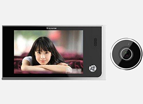 BW8001 LCD de 3,5 Pulgadas de Ahorro de energía de vídeo Digital 120 Gran Angular de 2,0 megapíxeles Puerta de visualización de la cámara Eye Detección Peephole