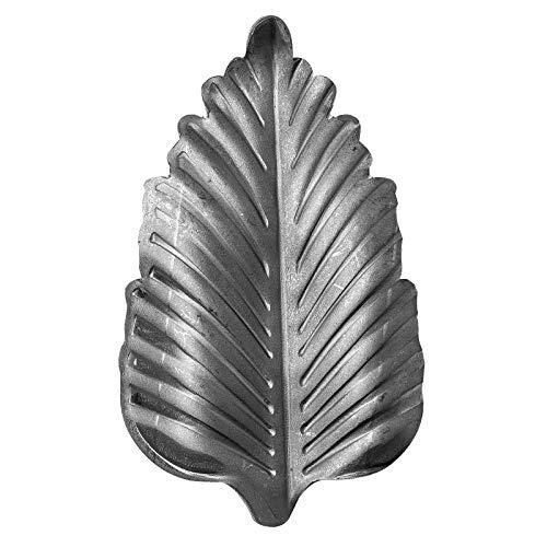 UHRIG ® - Decoración de hierro forjado, hoja de acero para rejas de ventanas, vallas, etc. hierro forjado