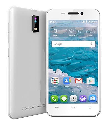 """Smartphone Pas Cher 4G 4.0"""" Pouces Téléphone Portable Débloqué 1Go RAM 8Go ROM Une SIM Smartphone Pas Cher (Blanc)"""