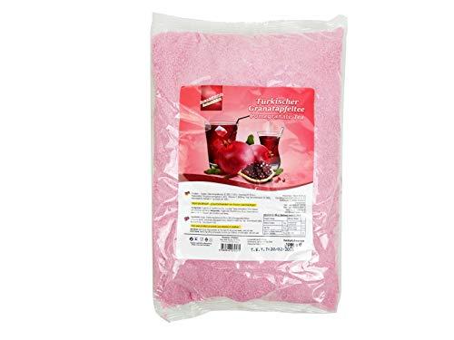 Lezzo, Türkischer Granatapfeltee, 1000 g Instantgetränk Pulver im Beutel, löslicher Instanttee heiß oder kalt genießen