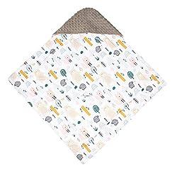 TupTam Baby Winter Einschlagdecke für Babyschale Wattiert, Farbe: Pink, Größe: ca. 75 x 75 cm