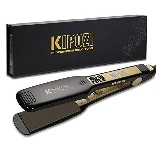 Plancha de pelo KIPOZI - La mejor plancha profesional para viajar