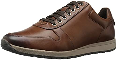 STACY ADAMS Men& 039;s Axel Moc Toe Lace Up Fashion Turnschuhe, braun, 9.5 M US