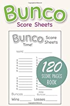 Online Reading Bunco Score Sheets: Bunco Score Sheets With MINI Bunco   Pads, Cards, Game Kit, Party Supplies, Dice Game, Gift   Vol.1 1675081204/ English PDF