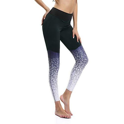 MJS Acoplamiento Atractivo Impreso Polainas de la Aptitud for los Pantalones de Las Mujeres Ropa de Entrenamiento Sporting Leggins Mujer Delgada elástico de Empuje hacia Arriba Dropshipping