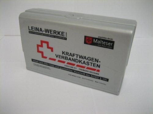 Leina-WERKE KFZ-Verbandkasten LEINA-STAR/10101 Silber Inh.DIN 13164