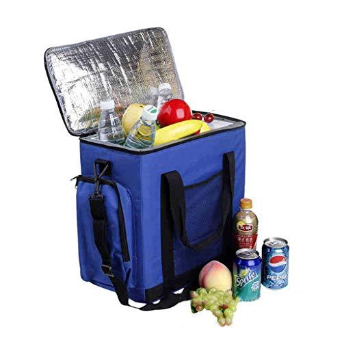 Refrigeradores para Autos Congelador portátil Mini Paquetes de refrigeradores Enfriador/Calentador Bolso Bandolera de Doble Uso Oxford Cloth Picnic al Aire Libre 14L