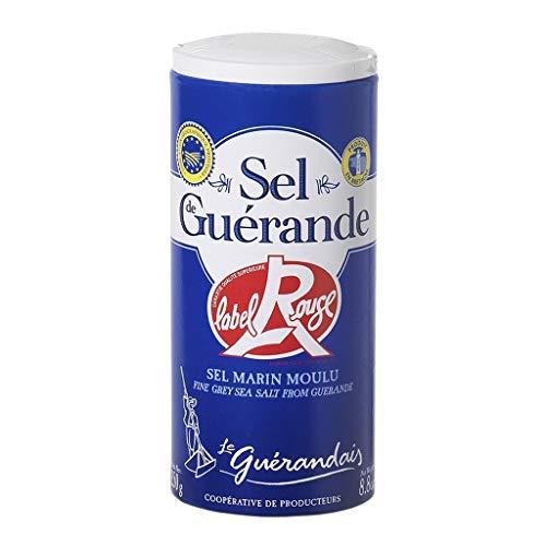 Le Guérandais Meersalz Boden 250G Label Rouge (3er-Pack)