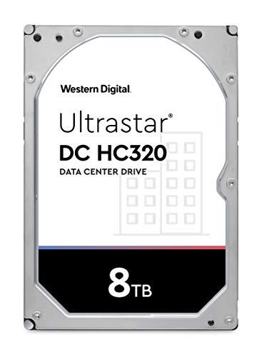 Western Digital WD Ultrastar 8TB DC HC320 SATA HDD, 3,5 Zoll interne Festplatte für Server 256 MB Cache, Enterprise Klasse