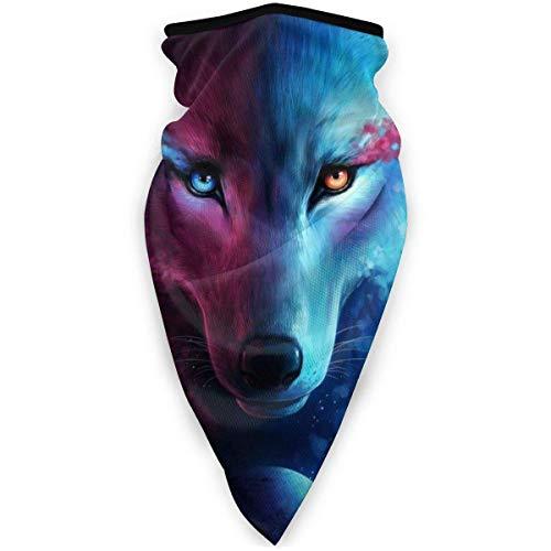 Bandanas Donde La Luz Y La Oscuridad Se Encuentran con Galaxy Wolf Pasamontañas Corriendo Cuello De Esquí Polainas Pañuelos Cabeza De Pesca Al Aire Libre Bufanda Esquí Duradero Ca