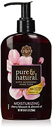 Pure and Natural Liquid Hand Soap, Cherry Blossom and Almond, 8.45 Ounce