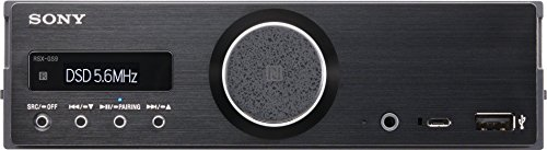 Sony RSXGS9 Hi-Res Audio Media Receiver with Bluetooth (Black)