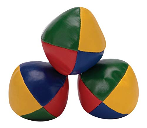 C63 3 Pack of Classic Juggling Balls. Retail Boxed