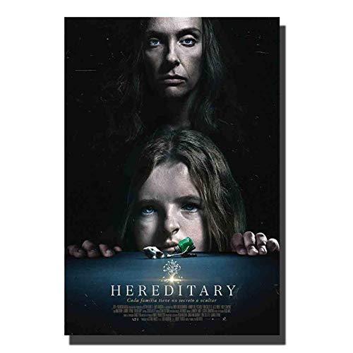 chtshjdtb Hereditary (2018) Film Horror Film Art Poster Leinwandmalerei Wanddekoration Leinwand Raumdekoration Druck auf Leinwand -50x70cm Kein Rahmen