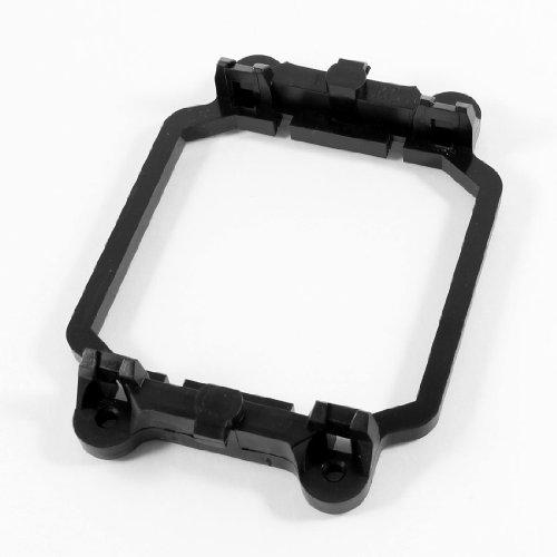 sourcingmap Base support de ventilateur de refroidissement pour CPU AMD plastique noir compatible prise AM2 AM3