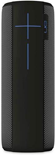 Ultimate Ears Megaboom Tragbarer Bluetooth-Lautsprecher, Satter Tiefer Bass, Wasserdicht, App-Navigation, Kann mit weiteren Lautsprechern verbunden werden, 20-Stunden Akkulaufzeit - marina/schwarz