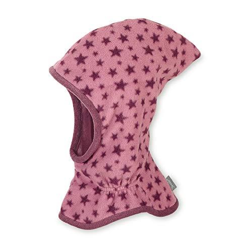 Sterntaler Schalmütze mit Zipfel und Sternen-Motiv, Wärmeschutz durch Thinsulate Insulation, Alter: 12-18 Monate, Größe: 49, Helllila
