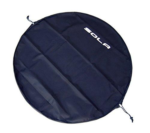 SOLA Waterproof Changing Mat Bag Sacca, 100 cm, Nero (Black)