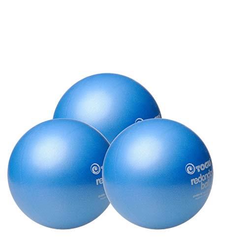 Togu 10 x Redondo Ball Pilates Ball Gymanstik Yoga Fitness Therapie 22cm blau