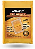 MR.ICE10 Packs Body Warmers Large Pads with Adhesive Backing Gives 12 Hours Warm (5.1''×3.7'') for Women Men Kids, Big Heat Sticker for Camping Hiking