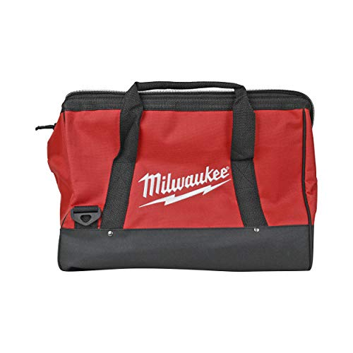 Milwaukee 16-inch x 10-inch x 12-inch Red Contractor Tool Bag