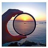para filtrar la cámara un Filtro de polarización de 49 mm / 52 mm / 55mm / 58/62 / 67/72/77 / 82mm Filtro CPL para la cámara Canon Nikon DSLR (Caliber : 55mm cpl)