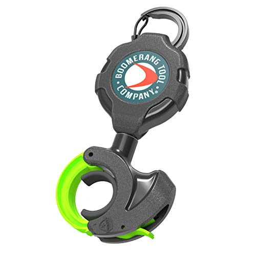 Boomerang Progrip Rod & Paddle Gear Tether with Carabiner for Paddle Board Paddles, Fishing Rods, Canoe Oars & More!