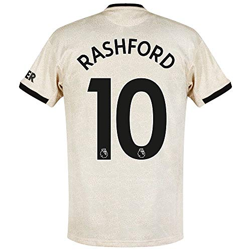adidas Man Utd Away Rashford 10 Trikot 2019-2020 (Official Premier League Beflockung) - S