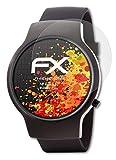 atFoliX Panzerfolie kompatibel mit Runtastic Moment Elite Schutzfolie, entspiegelnde & stoßdämpfende FX Folie (3X)