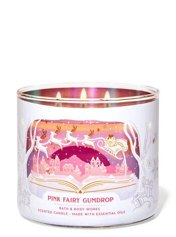 White Barn Pink Fairy Gumdrop Candle New at Bath & Body Works for 2019