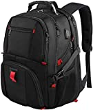 Travel Laptop Backpack,TSA Friendly Scansmart Durable Computer Bag w/ USB Charging Port/Headphone Hole for Men Women,Water Resistant Large Capacity Backpacks Fit Most 17-Inch Laptops & Notebook, Black canvas backpacks May, 2021