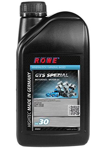 ROWE Hightec GTS Spezial SAE 30-1 Liter Einbereich PKW-Motoröl mineralisch   Made in Germany