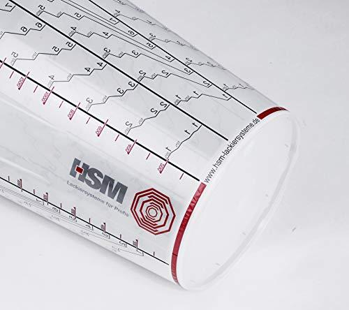 Mischbechereinlagen 450 ml 100 Stück und 1 Außenbecher mit Skala
